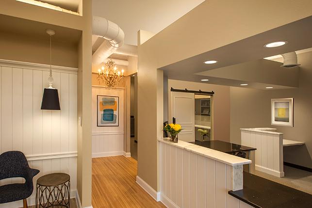 Eaton Family Dental Interior Ideas